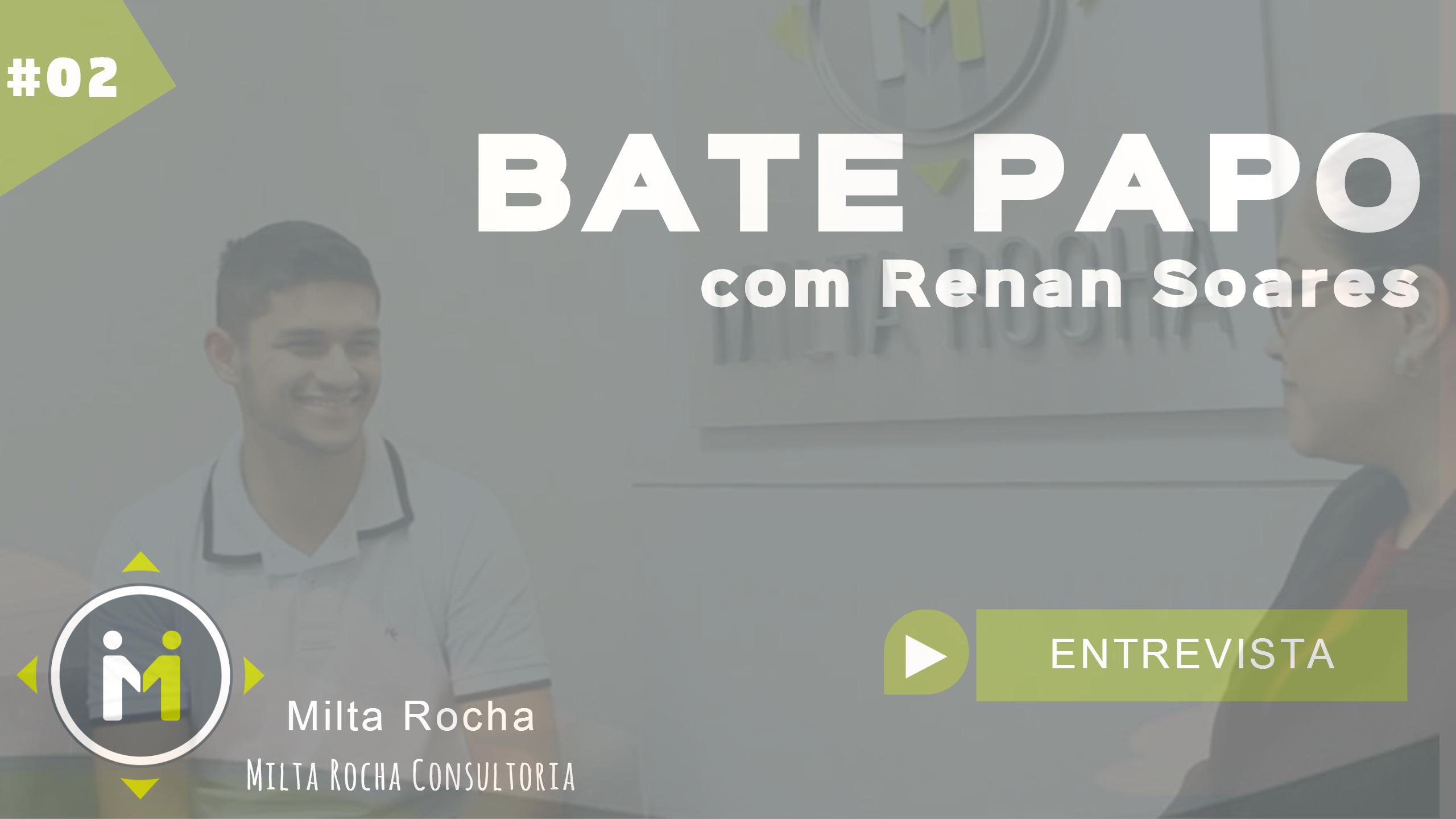 Renan conta como o jovem profissional pode vencer com um bom plano de carreira